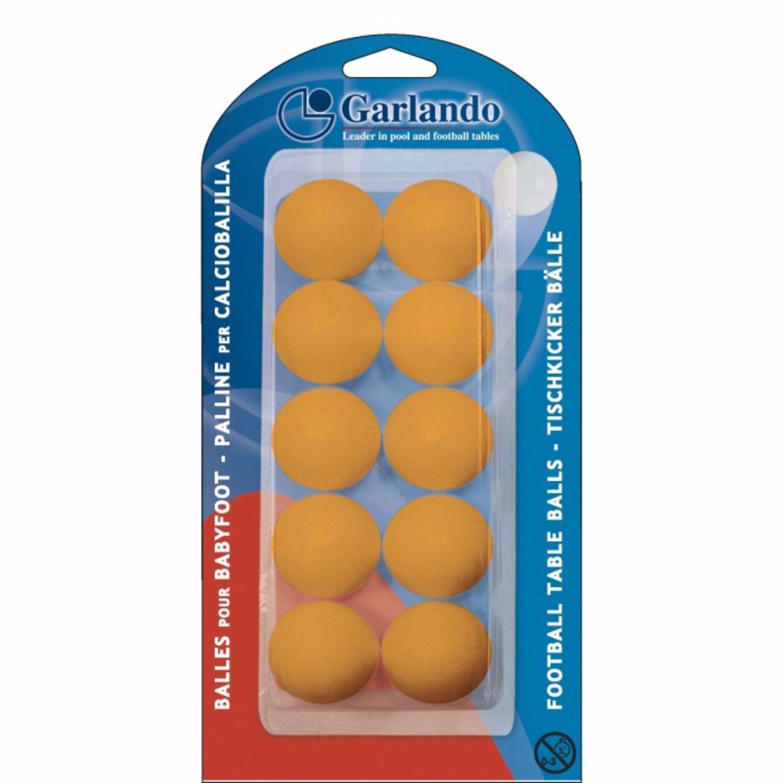 Blister di 10 palline arancio standard