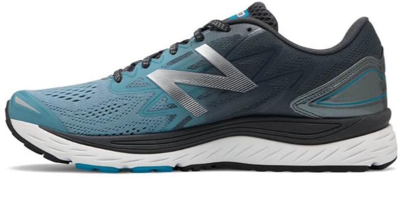 scarpe new balance uomo blu azzurra sintetica