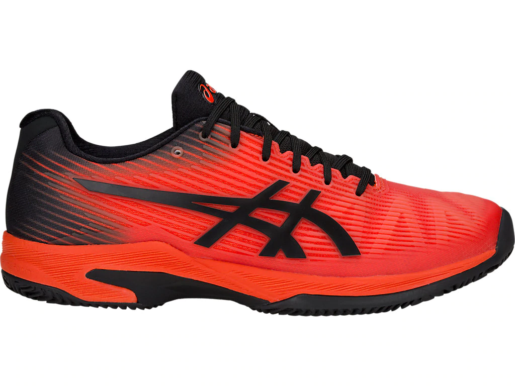 SCARPA DA TENNIS DA UOMO ASICS SOLUTION SPEED FF CLAY ROSSA