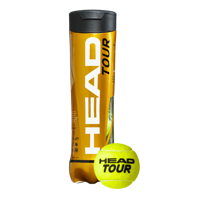 TUBO DA 4 PALLINE DA TENNIS HEAD TOUR