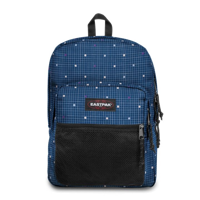ZAINO EASTPAK PINNACLE BLU CON GRIGLIA