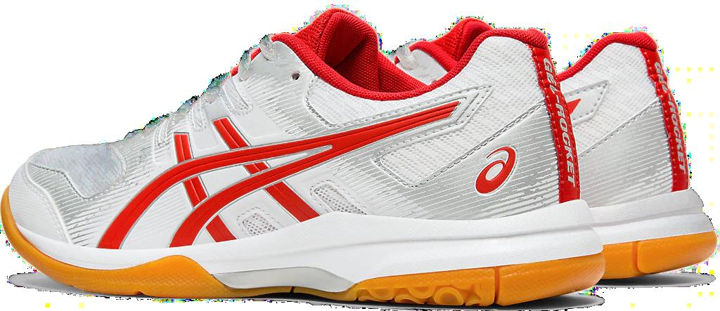 ASICS Gel rocket 8 scarpa da pallavolo biancoblu