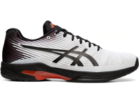 SCARPA DA TENNIS DA UOMO ASICS SOLUTION SPEED FF BIANCA NERA