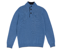 MAGLIONE DA UOMO NORTH SAILS BLEND JUMPER BLU MELANGE