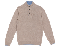 MAGLIONE DA UOMO NORTH SAILS BLEND JUMPER FOSSIL MELANGE