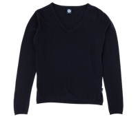 MAGLIONE DA DONNA COLLO A V NORTH SAILS BLU NAVY