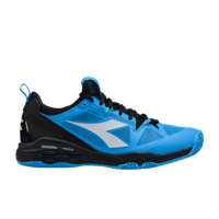 SCARPA DA TENNIS DA UOMO DIADORA SPEED BLUSHIELD FLY 2 CLAY AZZURRA