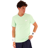T-SHIRT DA TENNIS DA UOMO LOTTO VERDE