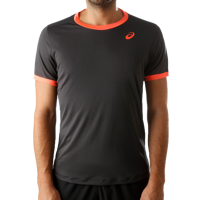 T-SHIRT DA TENNIS DA UOMO ASICS CLUB SS TOP GRIGIA
