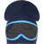CAPPELLO DA BAMBINO BREKKA SUNGLASSES LONG BLU NAVY