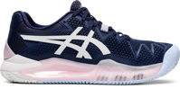 SCARPA DA TENNIS DA DONNA ASICS GEL-RESOLUTION 8 CLAY BLU