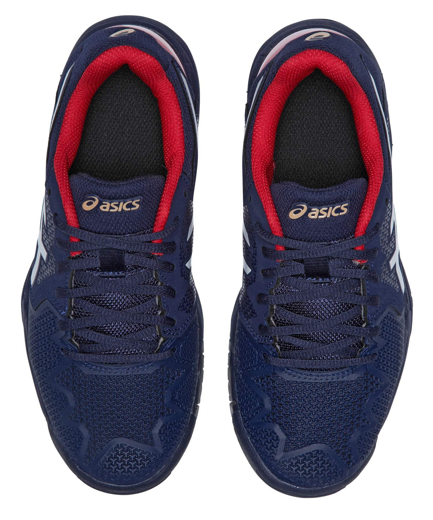 SCARPA DA TENNIS DA BAMBINO ASICS GEL RESOLUTION 8 GS BLU