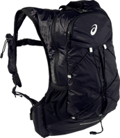 ZAINO DA CORSA ASICS LIGHTWEIGHT RUNNING BACKPACK NERO