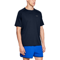 T-SHIRT DA UOMO UNDER ARMOUR UA TECH 2.0 SS TEE BLU NAVY