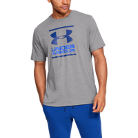 T-SHIRT DA UOMO UNDER ARMOUR UA GL FOUNDATION GRIGIA