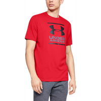 T-SHIRT DA UOMO UNDER ARMOUR UA GL FOUNDATION ROSSA