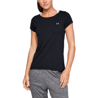 T-SHIRT DA DONNA UNDER ARMOUR HEAT GEAR NERA