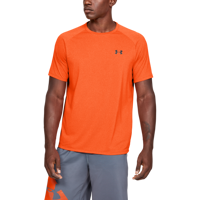 T-SHIRT DA UOMO UNDER ARMOUR UA TECH 2.0 NOVELTY ARANCIONE