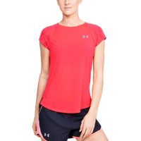 T-SHIRT DA DONNA UNDER ARMOUR W STREAKER 2.0 SHIFT  SS ROSSA