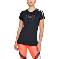 T-SHIRT DA DONNA UNDER ARMOUR UA ARMOUR SPORT BRANDED NERA