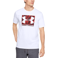 T-SHIRT DA UOMO UNDER ARMOUR UA BOXED SPORTSTYLE CAMO FILL BIANCA