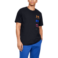 T-SHIRT DA UOMO UNDER ARMOUR UA ORIGINATORS BACK SS NERA