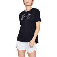 T-SHIRT DA DONNA UNDER ARMOUR PERFORMANCE GRAPHIC SS NERA