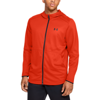 FELPA DA UOMO UNDER ARMOUR MK-1 WARMUP FULL ZIP HOODIE ROSSA