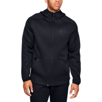 FELPA DA UOMO UNDER ARMOUR UA MOVE FULL ZIP HOODIE NERA