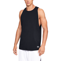 CANOTTA DA UOMO UNDER ARMOUR UA BASELINE COTTON TANK NERA