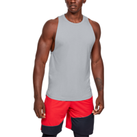 CANOTTA DA UOMO UNDER ARMOUR UA BASELINE COTTON TANK GRIGIA