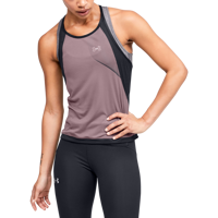 CANOTTA DA DONNA UNDER ARMOUR UA W QUALIFIER ISO-CHILL TANK ROSA