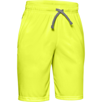 SHORT DA RAGAZZO UNDER ARMOUR PROTOTYPE WORDMARK GIALLO