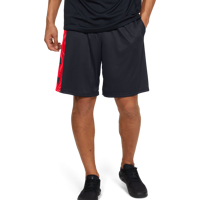 SHORT DA UOMO UNDER ARMOUR UA TECH BAR LOGO SHORTS NERO ROSSO