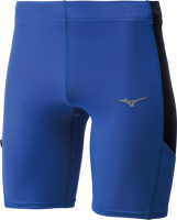 SHORT DA UOMO MIZUNO CORE MID TIGHT AZZURRO