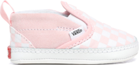SCARPA JUNIOR VANS IN SLIP-ON V CRIB ROSA