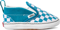 SCARPA JUNIOR VANS IN SLIP-ON V CRIB AZZURRA