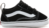 SCARPA JUNIOR VANS IN OLD SKOOL CRIB NERA BIANCA