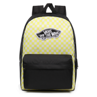 ZAINO VANS REALM BACKPACK GIALLO NERO