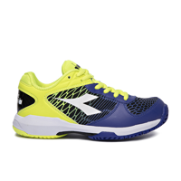SCARPA DA TENNIS JUNIOR DIADORA SPEED COMPETITION + Y BLU GIALLA