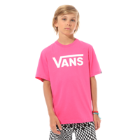 T-SHIRT JUNIOR VANS CLASSIC BOYS ROSA