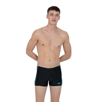 COSTUME DA UOMO SPEEDO EXAGONAL TECH PANEL AQUASHORT NERO BLU