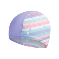 CUFFIA JUNIOR SPEEDO PRINTED CAP ROSA VIOLA