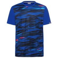 T-SHIRT DA UOMO HEAD SLIDER BLU