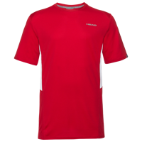 T-SHIRT DA UOMO HEAD CLUB TECH ROSSA