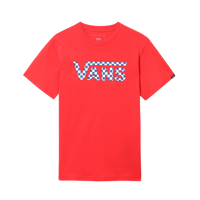 T-SHIRT JUNIOR VANS BY CLASSIC LOGO FILL BOYS ROSSA