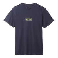 T-SHIRT DA UOMO VANS MN EASY BOX BLU