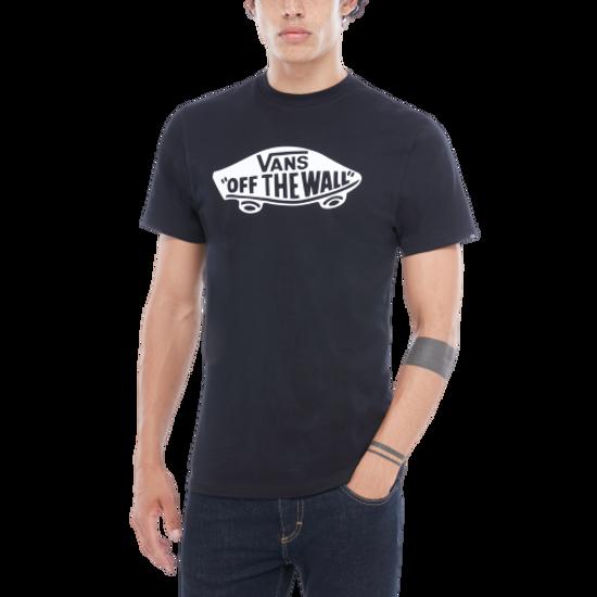 maglietta uomo vans nera