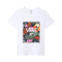 T-SHIRT JUNIOR VANS GR MULTI TROPIC BIANCA