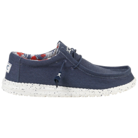 SCARPA DA UOMO WALLY STRETCH BLUE
